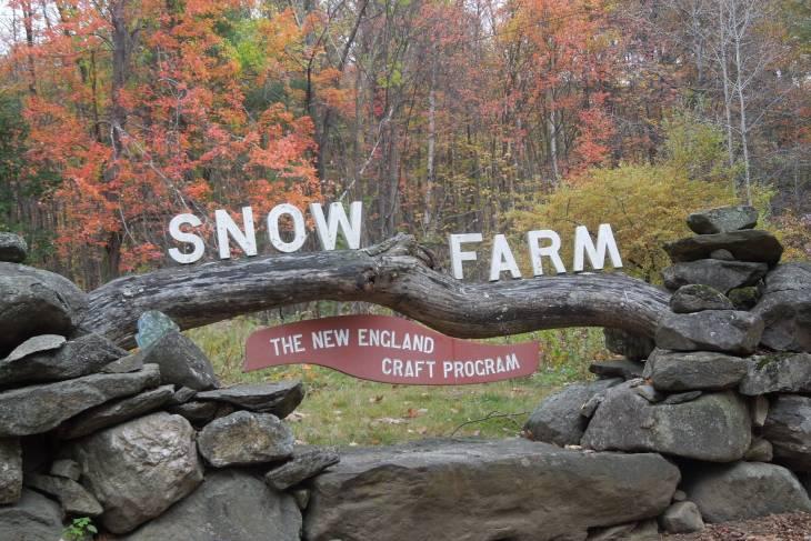 new england craft program, new england barns,  snow farm