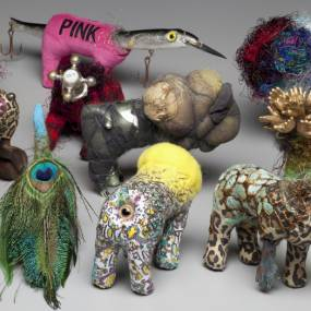 Jodi Colella, Fiber Jewelry, Soft Sculpture