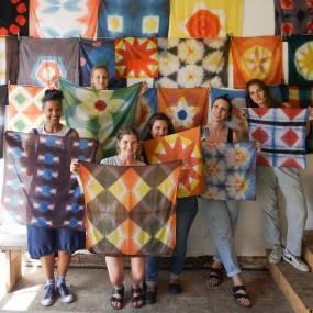 Graham Keegan, Shibori Rainbow: Full Spectrum of Natural Dyed Color, Fiber and Baskets
