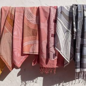 Emily Parkinson, Screen Printing with Mordants & Natural Dyes, Fiber