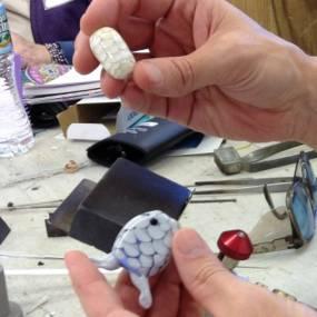 flamework, glass beads