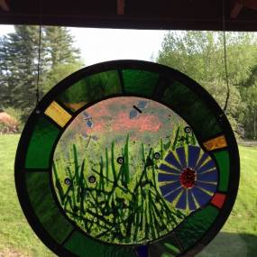 Stained Glass and Fused Elements, Daniel Maher