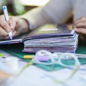 Suzi Banks Baum, Coptic Stitch Journals