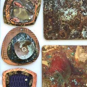 Lauren Beaudoin, Patina Color on Metal