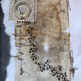 Eva Camacho-Sanchez, Mark Making on Textiles