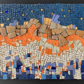 Beth Klingher, Abstract Expressions in Mosaic Art