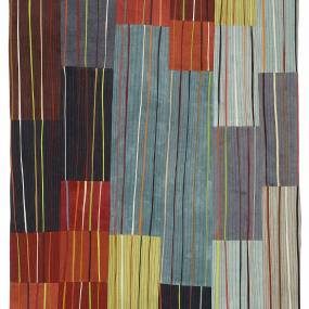 Valerie Maser Flanagan, Lines as a Design Focus in a Sewn Composition, Fiber and Baskets