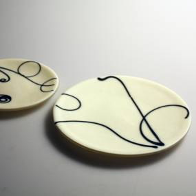 Jessi Moore, Line Color and Shape in the Kiln, Kiln Fused Glass