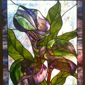 Donna Solomon, Explorations in Stained Glass