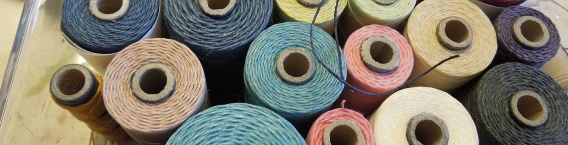 fiber art, textile art, thread,